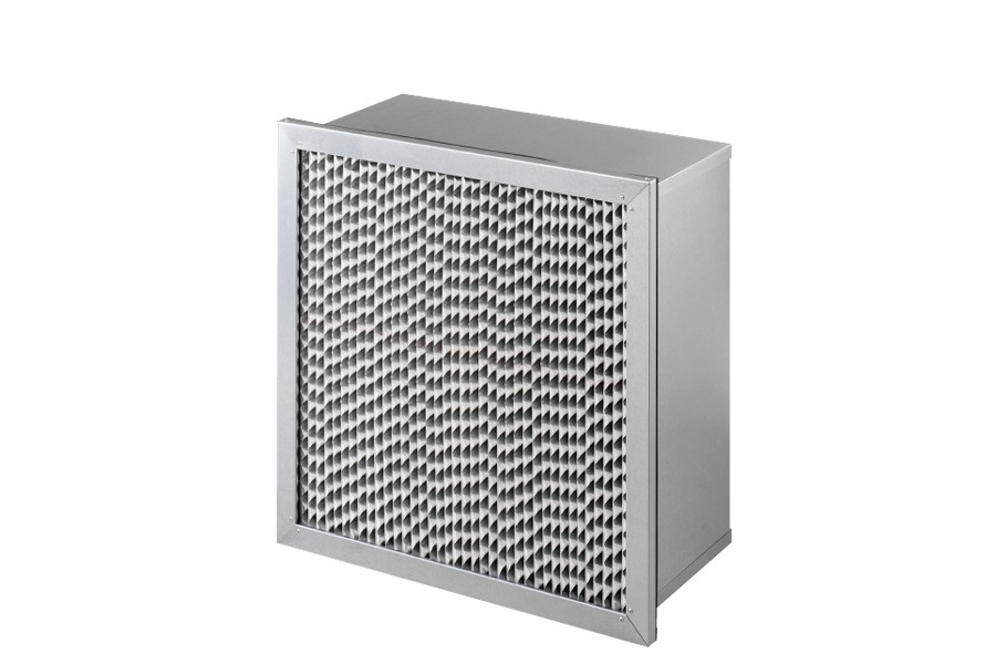 鋁隔板式濾網