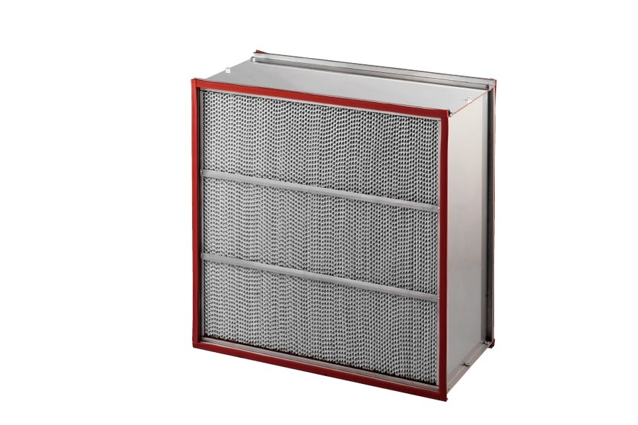 鋁隔板式耐高溫型高效率空氣過濾器